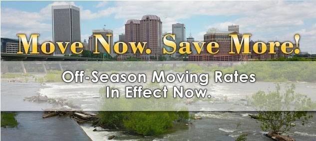 Off-Season Moving Rates