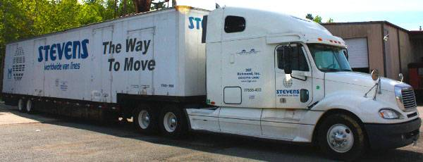 Long-Distance Moving Truck