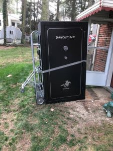 Moving Gun Safes in Richmond area