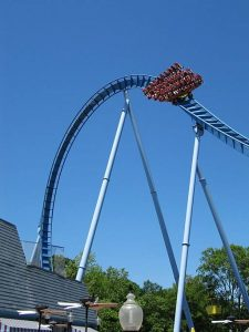Roller Coaster at Busch Gardens